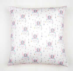Pastel Bunny Cushion Cover