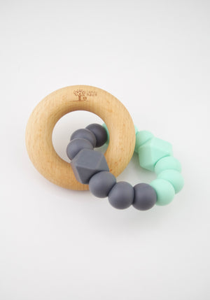 Mint & Charcoal Teether