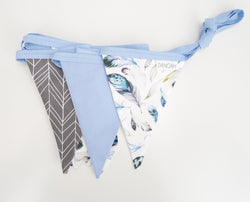 Blue Dreamcatcher Bunting Flags