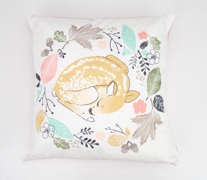 Sleeping Deer Cushion Cover