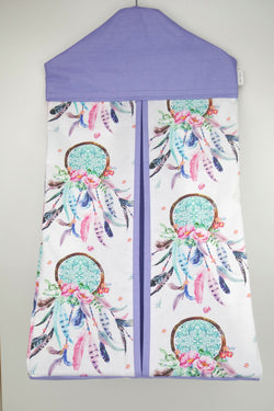 Purple Dreamcatcher Nappy Stacker
