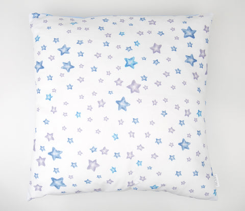 Blue Stars Cushion Cover