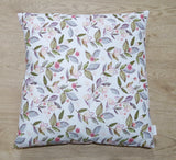 Pink Floral Cushion Cover