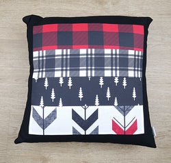 Adventure Kid Patchwork Cushion Cover