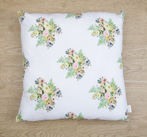 Boho Floral Cushion Cover