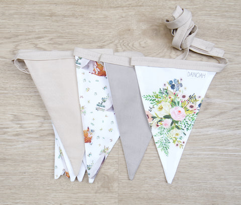 Boho Deer Bunting Flags