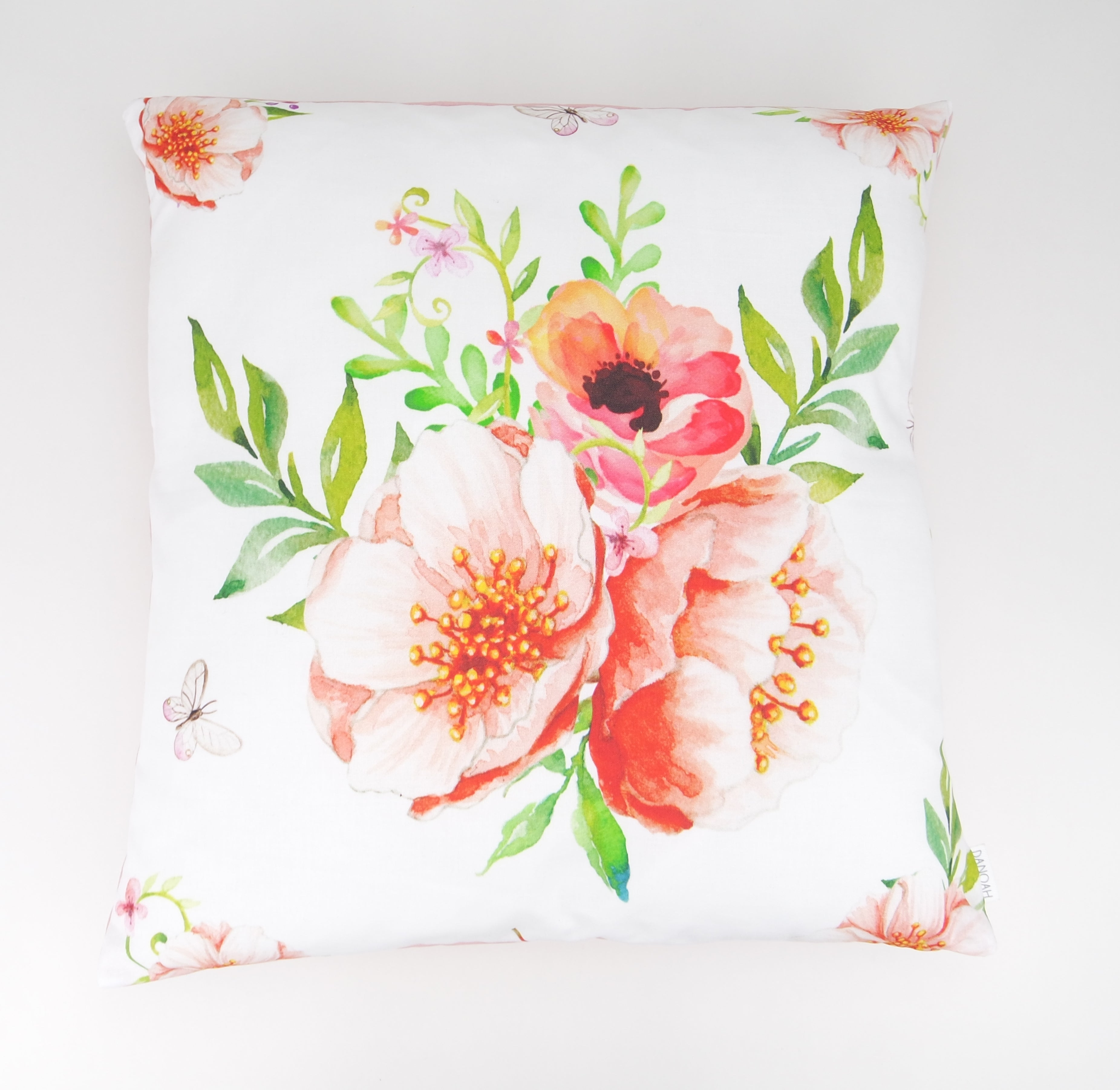 Floral bouquet Cushion Cover