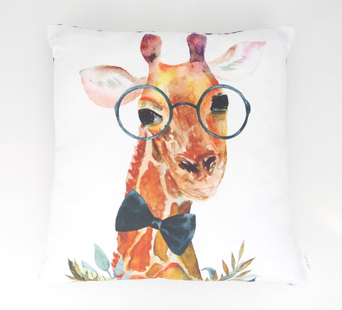 Boy Giraffe Cushion Cover