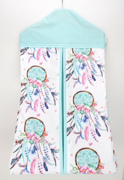 Aqua Dreamcatcher Nappy Stacker
