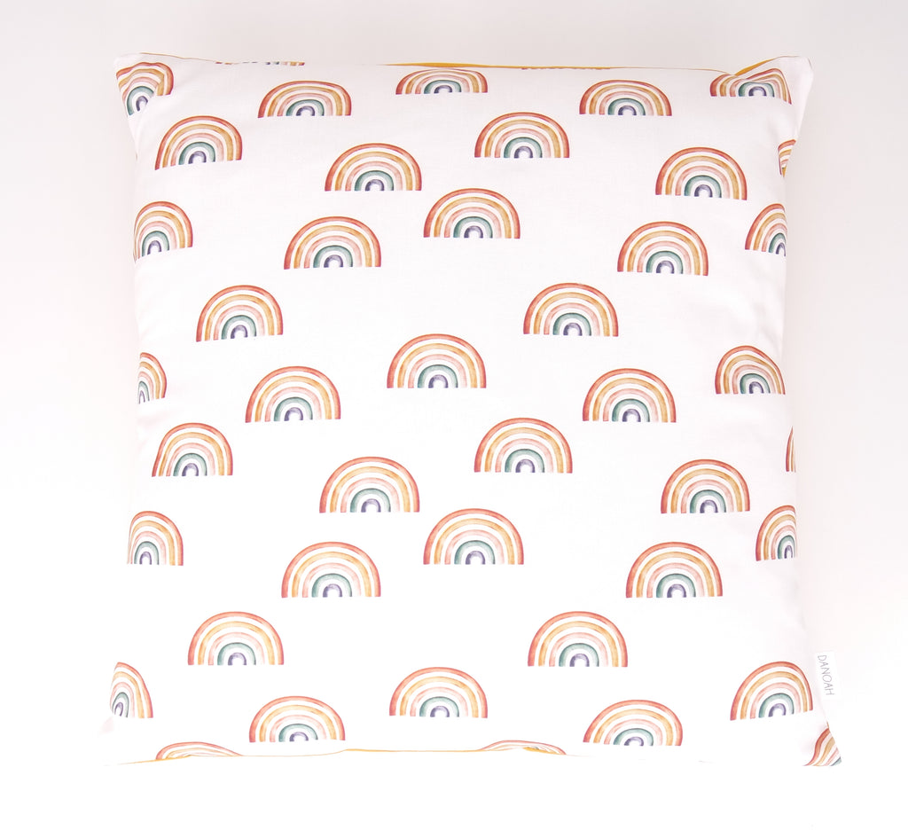 Small Rainbows Cushion Cover