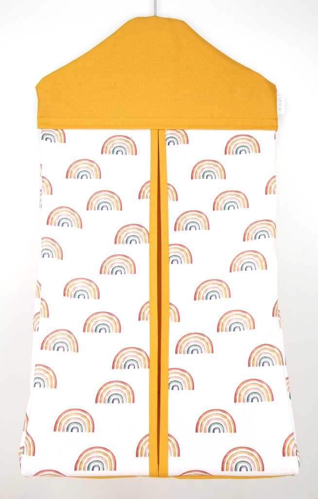 Earthy Rainbow Nappy Stacker