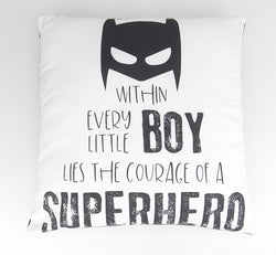 Superhero Boy Cushion Cover