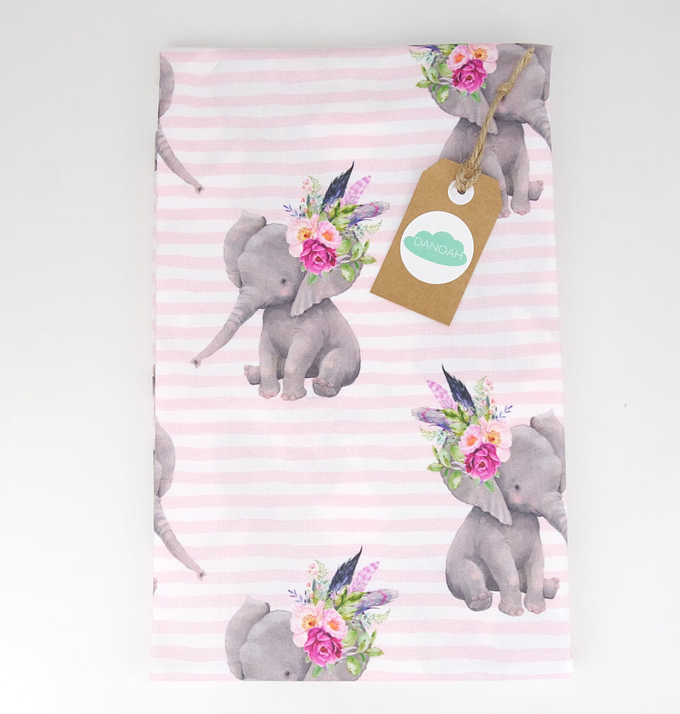 Fitted Cot Sheet ADD-ON to Fierce Elephant Collection