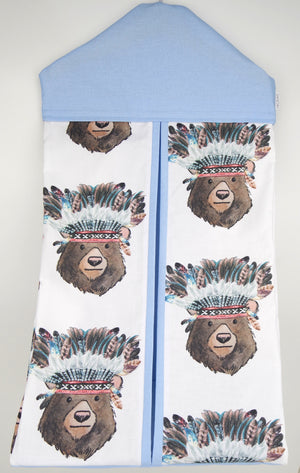 Tribal Bear Nappy Stacker
