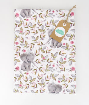 Change Table Cover ADD-ON to Pink Floral Elephant Collection