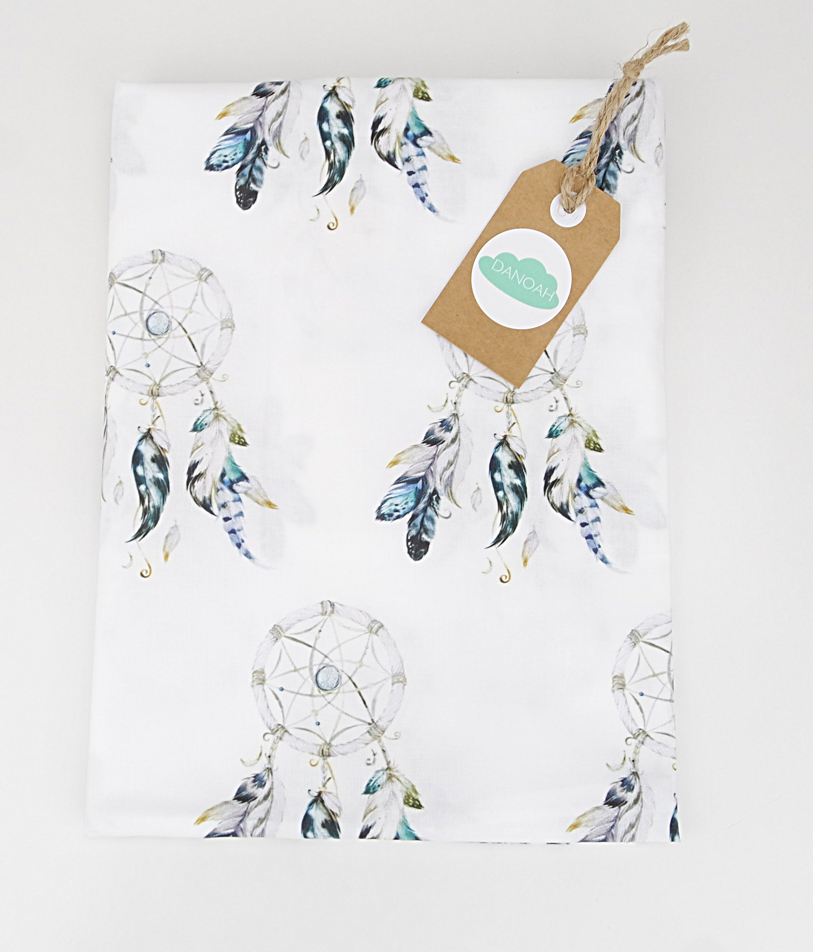 Fitted Cot Sheet ADD-ON to Blue Dreamcatcher Collection