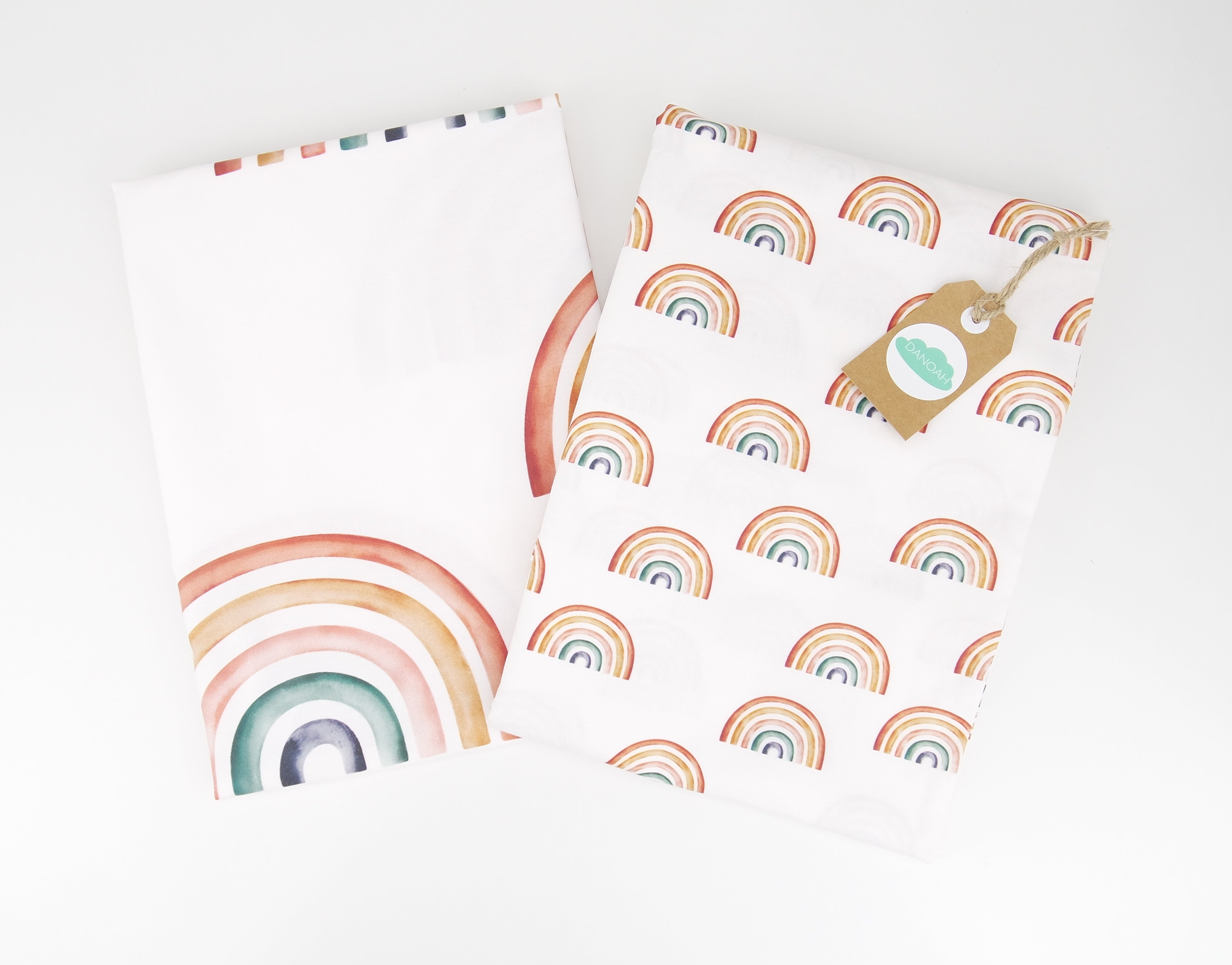 Fitted Cot Sheet ADD-ON to the Earthy Rainbow Collection