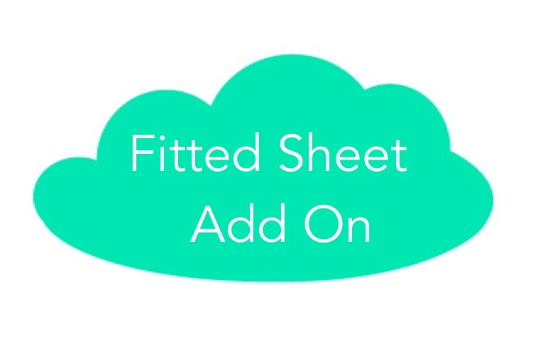 Fitted Cot Sheet ADD-ON to Grey Woodland Collection
