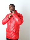 Dabati B-9 RED Bubble jackets