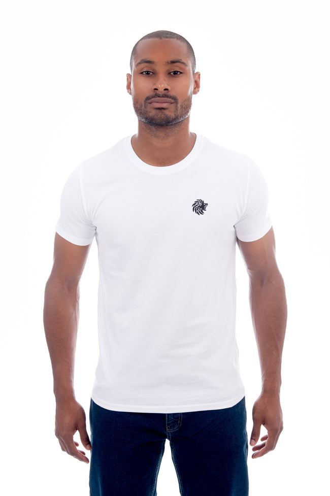 White Goodseed Urban Jersey Fitted T shirt - Dabati London