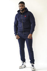 Dabati Navy Blue Unisex Tracksuit - Dabati London