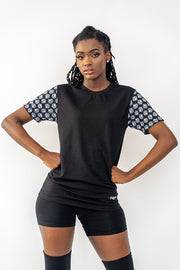 Dabati Unisex Patterned Sleeves T-Shirt
