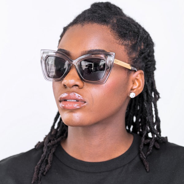 Dabati Queen Starzy Shade Of Black Cat Eye Eyewear ( UV400) - Dabati London