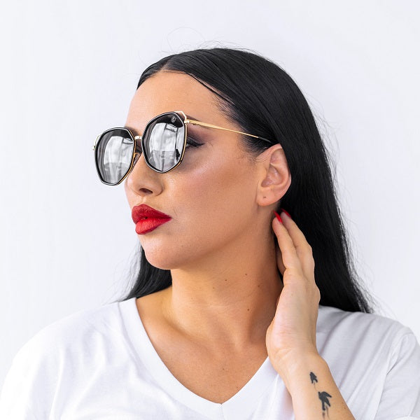 Dabati Black Adelaide Glasses