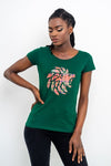 Dabati Women Scottish graphics Casual T-Shirts - Dabati London