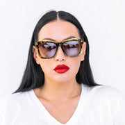 Dabati LB (Laide Bakare Collection)  Leopard Print Eyewear
