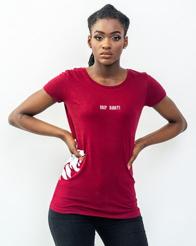 Drip Dabati Side Logo  women T-Shirt