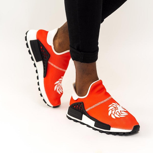 Dabati Red Basket Trainers - Dabati London