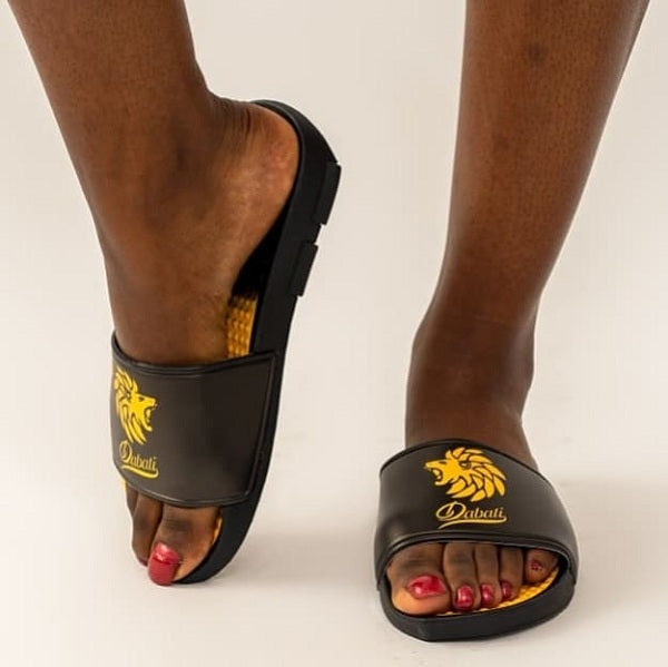 Dabati Black Slippers - Dabati London