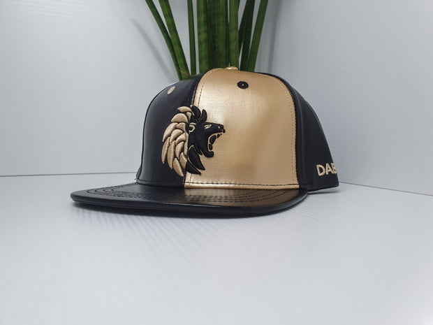 Dabati  PU Leather Snapback Cap - Dabati London