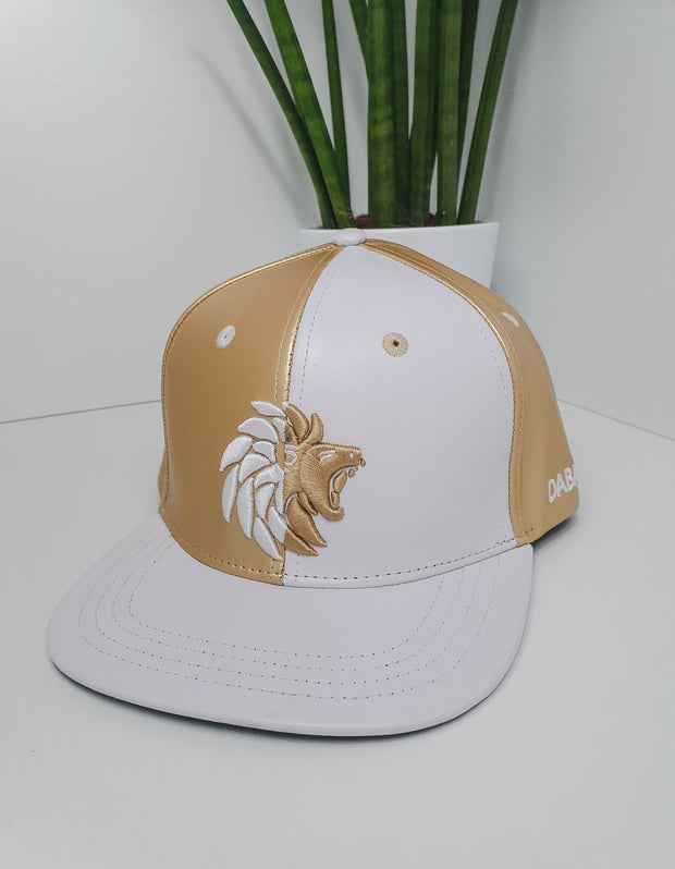 Dabati  PU Leather Snapback Cap