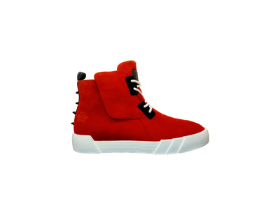 Red Rompin high top Sneakers - Dabati London
