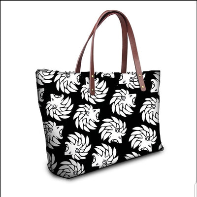 Dabati Black and White Bag