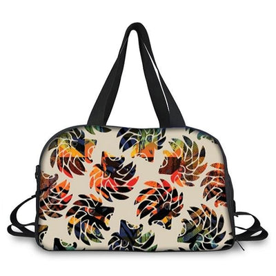 Dabati Patterned  Unisex Overnight Bag - Dabati London