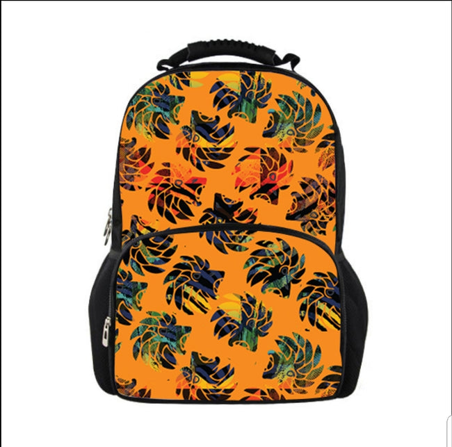 Dabati Patterned Backpack - Dabati London