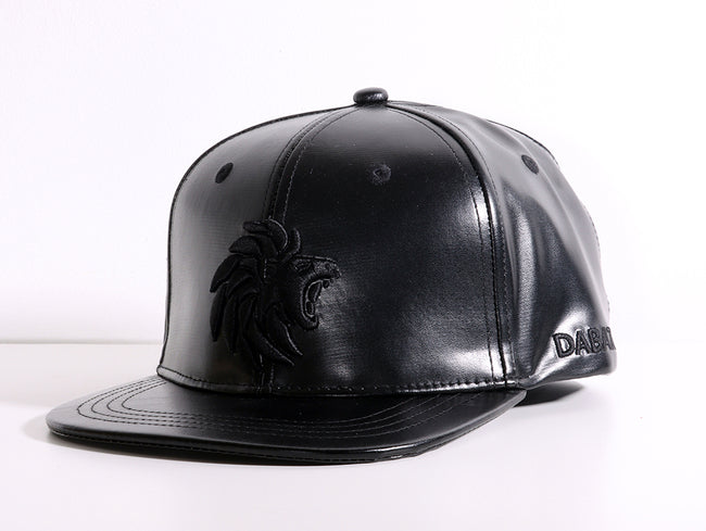 Dabati All-Black Snapback Cap - Dabati London