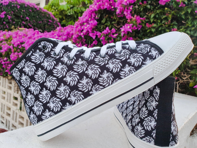 Dabati Patterned Hightop sneakers - Dabati London