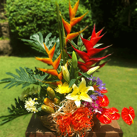 Basket of exotic arrangements