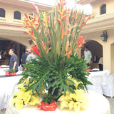 Table centerpiece exotic arrangement