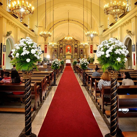 Wedding Santuario De San Antonio Figi Mums Arrangement Package