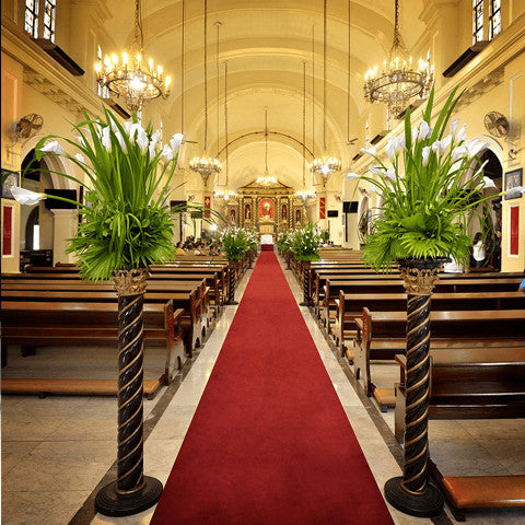 Wedding Santuario De San Antonio Calla Lily Arrangement Package