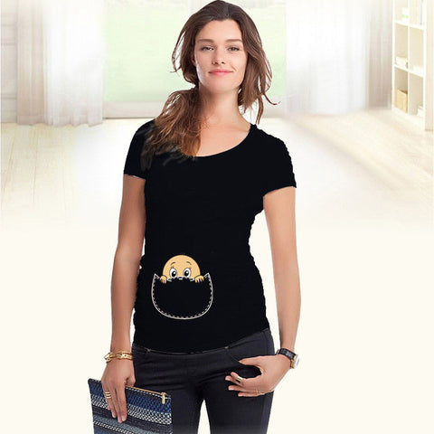 NEW - TSHIRT MOM TO BE - 100% COTON