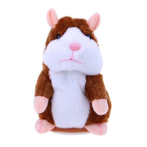 PELUCHE QUI PARLE - HAMSTER