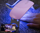 LAMPE À ONGLES UV PORTABLE