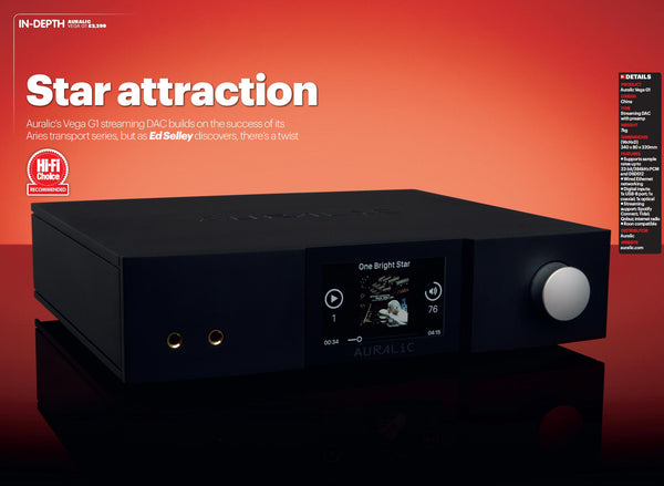 Star Attraction - VEGA G1 Review by HiFi Choice