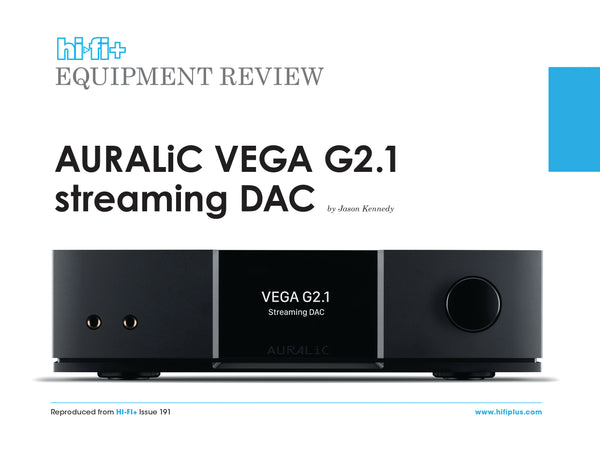 VEGA G2.1 Streaming DAC Review